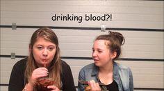 Drinking Blood?! - SparkyTheKitten
