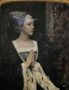 Edgar Maxence (French symbolist painter)