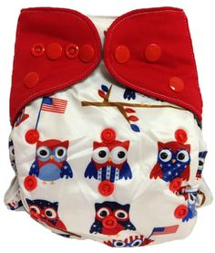 Happy Endings aio patriotic owls