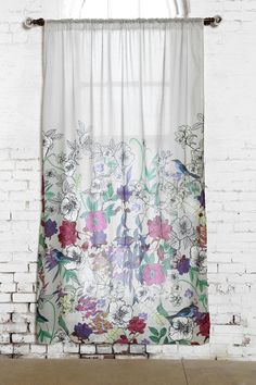 Plum & Bow Forest Critter Curtain urban outfitters $59