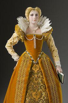 Marguerite de Valois (1553-1615) conocida como la Reina Margot, era la hija menor de Enrique II y Catalina de Médicis. Ella fue la primera esposa de Enrique IV. Ella era una personalidad excéntrica de considerables dones y talentos. Mantuvo un centro de la actividad intelectual en París en el futuro. Ella y Henry compartían poco en común y su matrimonio fue anulado en 1699. Se quedaron en buenos términos con el resto de sus vidas.
