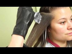 ▶ Balayage Peekaboo highlights // Hair 101 Tutorial - YouTube I'd start in back in stead though