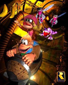 "Who didn't love the pipe levels from ""Donkey Kong Country 3: Dixie Kong's Double Trouble""?"