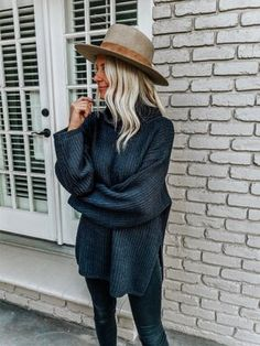 Winter Outfits Ideas For Women 2019 - Women's style: Patterns of sustainability Fall Winter Outfits, Autumn Winter Fashion, Casual Winter, Look Fashion, Fashion Outfits, Fashion Trends, Womens Fashion, Fall Fashion, Fashion Ideas