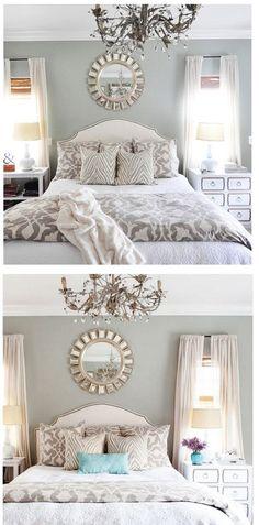master bedroom two ways: