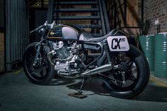 Kerkus Motorworks reworks the Honda CX500