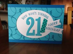 Cam's 21st card