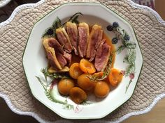 Canard aux abricots