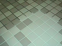 Natural grout  tile cleaner: 7 cups water, 1/2 cup baking soda, 1/3 cup lemon juice and 1/4 cup vinegar