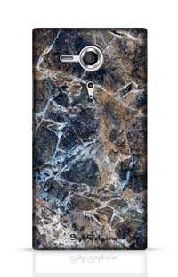 Gray Marble Sony Xperia SP Phone Case