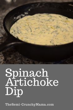 This easy recipe will be your go to for a great appetizer at parties and get togethers. Ready in 30 minutes, everyone will love this dip with chips or crusty bread! #30minuterecipes #appetizers #appetizerideas #holidayrecipes #chipsanddip #comfortfood #americanfood #spinachrecipes #easyrecipe