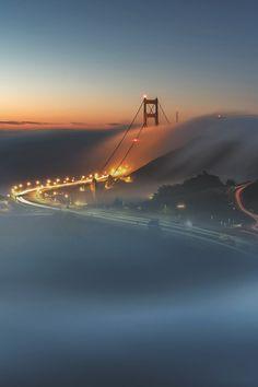 3leapfrogs: captvinvanity: Tule Fog Sunrise | Ed Francisco .3leapfrogs|49.0K| •=• •=• •=•