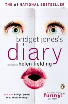 """""""Bridget Jones' Diary"""" by Helen Fielding ($16.00) - 288 pages, published by Penguin Group Inc. in June 1999. This book spent 17 wks on the NYT bestseller list and was a number-one bestseller around the world. Inspired the 2001 Brit rom-com film directed by Sharon Maguire. The book is a modern Brit reinterpretation of Jane Austen's """"Pride and Prejudice."""" / The way the book is written is so delightful and refreshing! A great way to start a new year. Part of a series."""