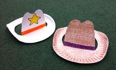 SRC 2015 Paper Plate Cowboy Hat Craft