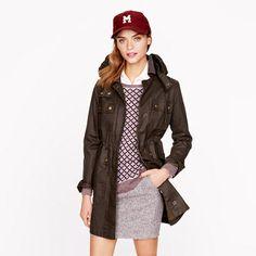 Petite long field jacket