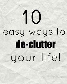 minimalis declutter simplicity