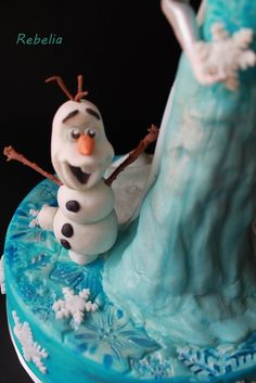 Frozen cake, Olaf