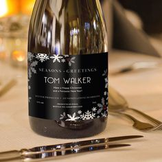 Personalised Christmas Prosecco A fine Italian Prosecco with a crisp taste and delicate bouquet. The bubbles release hints of peach and apple followed by notes of acacia and wisteria creating a fresh and light feel on the palate. Yo http://www.MightGet.com/january-2017-13/personalised-christmas-prosecco.asp