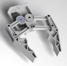Solidworks Gripper design - Karl Williams