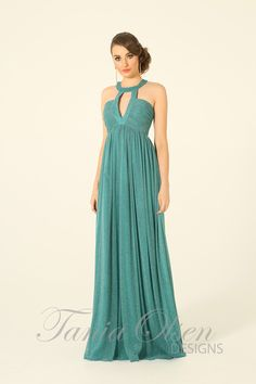 Adriano Peacock Evening Dress $99 sale