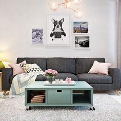Composição de quadros para sala de estar   Quadros On The Wall #quadro #moldura #canvas #BalazsSolti