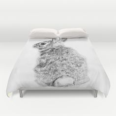 Rabbit+Duvet+Cover+by+Anna+Shell+-+$99.00
