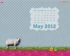 Calendar May 2012. via #Smashing Magazine.