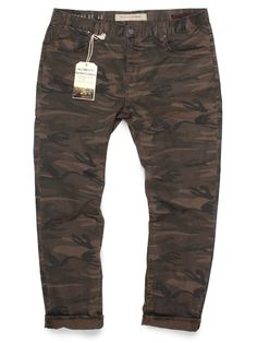 75ba253824d Front view of Men s Dark Military Camo Jeans. Camouflage Pants