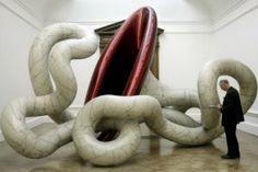 Slug - Anish Kapoor à Londres-