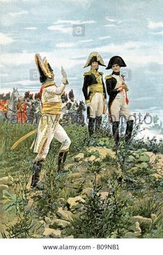 Murat et Napoleon