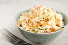 Slaw is the perfect accompaniment to every grilled or fried dish you'll be serving at your Fourth of July fête.For the Classic Coleslaw recipe,. Sweet Coleslaw Recipe, Homemade Coleslaw, Cetogenic Diet, Vegetarian Cabbage, Cole Slaw, Good Burger, Weight Watchers Meals, Side Dishes, Veggies