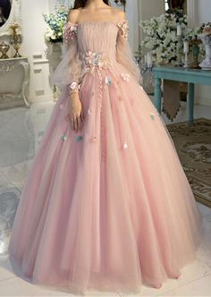 Off-the-shoulder wedding dress long sleeves Prom Dresses Unique Prom Dress Long Evening Dresses strapless party dress - Alison Dress Prom Dresses Long With Sleeves, Unique Prom Dresses, Elegant Dresses, Pretty Dresses, Dress Long, Dress Formal, Wedding Dresses, Sexy Dresses, Wedding Flowers