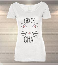 Tricou Dama Personalizat Gros Chat   Tipar Digital   MeraPrint.ro   Va punem la dispozitie o gama variata de produse personalizate la cele mai mici preturi! Mai, T Shirts For Women, Tops, Fashion, Moda, Fashion Styles, Fasion