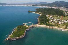 Vista aérea de Itapema SC. Brasil.