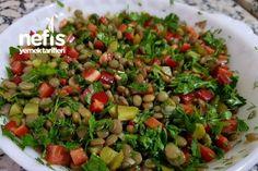 Mercimek Salatası – Nefis Yemek Tarifleri – – Vegan yemek tarifleri – The Most Practical and Easy Recipes Turkish Recipes, Ethnic Recipes, Lentil Salad, Pea Soup, Iftar, Kung Pao Chicken, Lentils, Green Beans, Healthy Life
