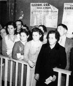 Nel 1946 l'Italia, che era appena uscita dalla seconda guerra mondiale. Ecco allora un'idea geniale: fare un referendum. Fu così che ventotto milioni di italiani furono chiamati alle urne ; non and…