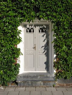 Ivy framed greige door