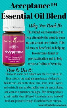 Acceptance Essential Oil Blend www.theoildropper.com