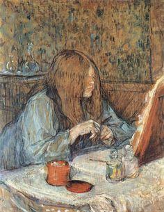 Henri De Toulouse Lautrec, Modern Portraits, Oui Oui, Exhibition Poster, Wassily Kandinsky, Old Art, France, French Art, Art World