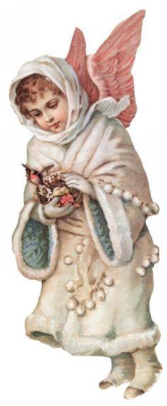 free Victorian angel