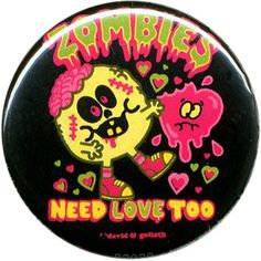 David & Goliath Zombies Need Love Too