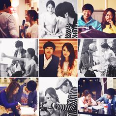 My new favorite Kdrama (and real life!) couple: Ji Hyun Woo and Yoo In Na. ♥