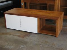 Simply Wood - recycled rimu entertainment unit