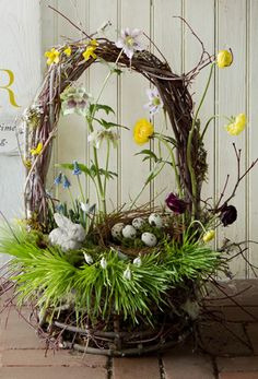 Vekonon dekorcie easter spring decorations and eggshell mosaic centerpiece easter decoreaster negle Choice Image