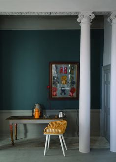Launching Today: First Look at the Nine Brand New Farrow & Ball Paint Colors Inchyra Blue 289 Farrow Ball, Farrow And Ball Paint, Inchyra Blue Farrow, Farrow And Ball Inchyra Blue, Oval Room Blue, Studio Green, Interior Paint Colors, Paint Colours, Interior Design