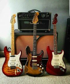 Fender Stratocaster Electric Guitars