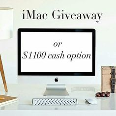 """Head over to @_saralista_ next to enter! More instructions below! 1 lucky winner will win an iMac or $1100 PayPal cash! MAKE SURE TO FOLLOW ALL ACCOUNTS we will be checking.  To Enter: 1Follow me and all other hosts of the giveaway 2 """"Like"""" this photo and everyone else's involved 3 Follow to @_saralista_  4 Repeat steps 1-3 in every photo until you've arrived back here.  This completes your entry. Be sure to double check that you didn't miss any of us!   BONUS ENTRY: Like 3 images on our…"""