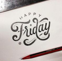 Inspiration hand lettering avec Anthony Hos