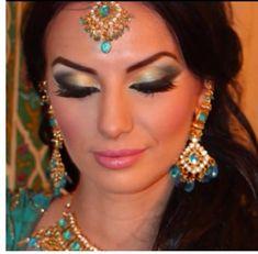 Arabic makeup for my Jasmine Costume next year