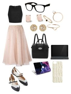 """""""#115"""" by jel1ica ❤ liked on Polyvore featuring Alice + Olivia, TIBI, Mulberry, Logitech, Kate Spade, Grace Lee Designs, Loren Stewart, Monki and Jeepers Peepers"""